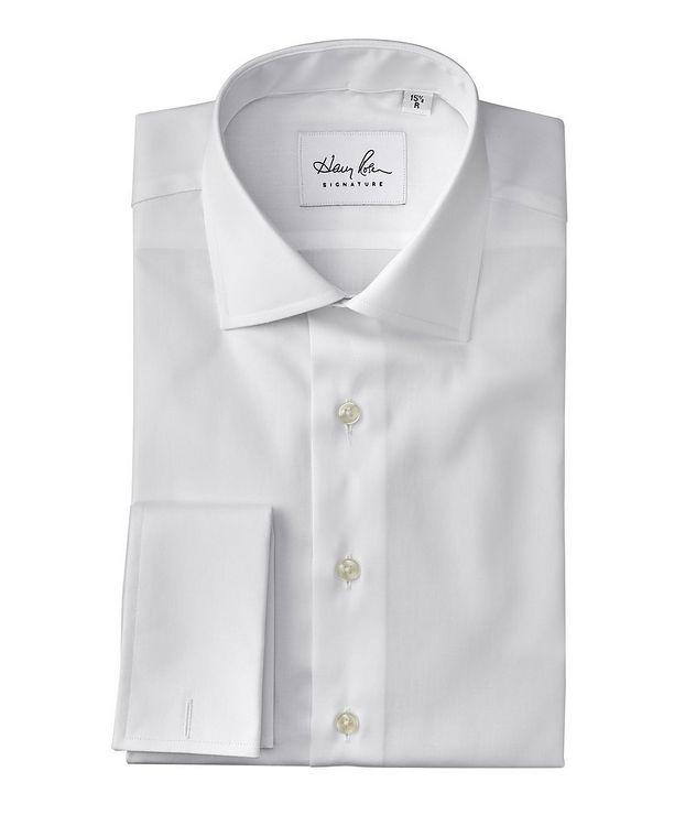 Chemise de soirée en coton de coupe contemporaine picture 1