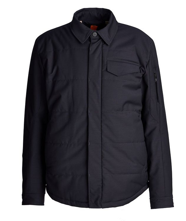 Craft Wool-Blend Shirt Jacket picture 1