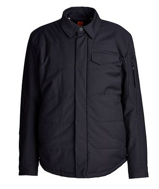 G-Lab Craft Wool-Blend Shirt Jacket