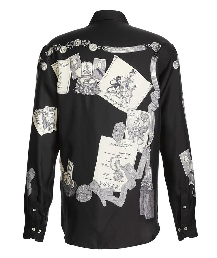Military Silk Shirt  image 2