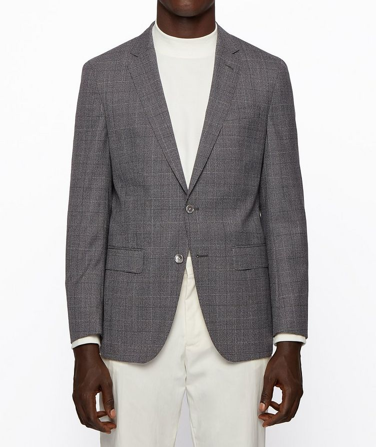 Hartlay2 Slim-Fit Checked Sports Jacket image 2