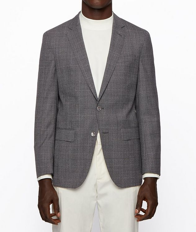 Hartlay2 Slim-Fit Checked Sports Jacket picture 3