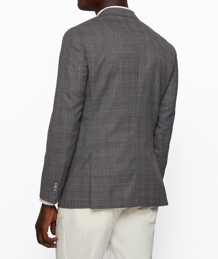 Hartlay2 Slim-Fit Checked Sports Jacket image 3