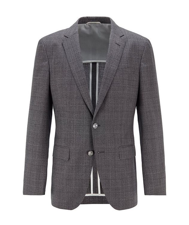 Hartlay2 Slim-Fit Checked Sports Jacket picture 1