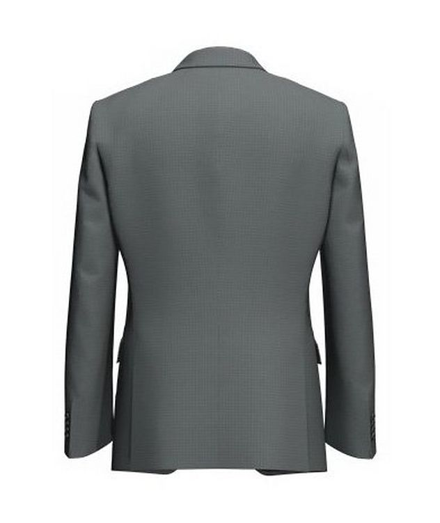 Huge6 Slim-Fit Checked Sports Jacket picture 2