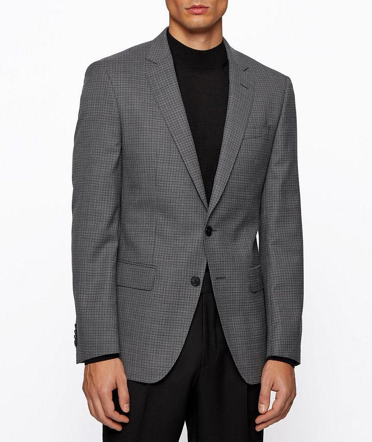Huge6 Slim-Fit Checked Sports Jacket image 2