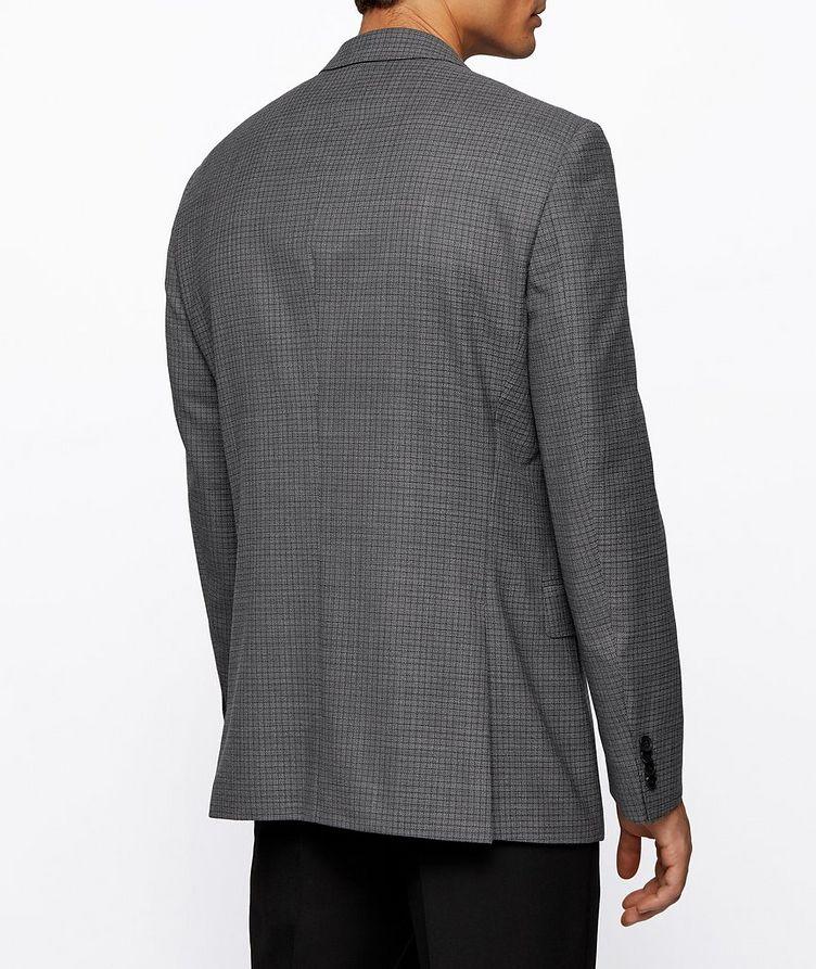 Huge6 Slim-Fit Checked Sports Jacket image 3