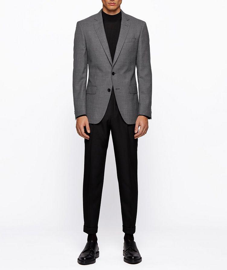 Huge6 Slim-Fit Checked Sports Jacket image 6