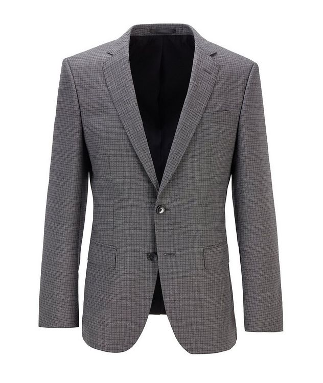 Huge6 Slim-Fit Checked Sports Jacket picture 1