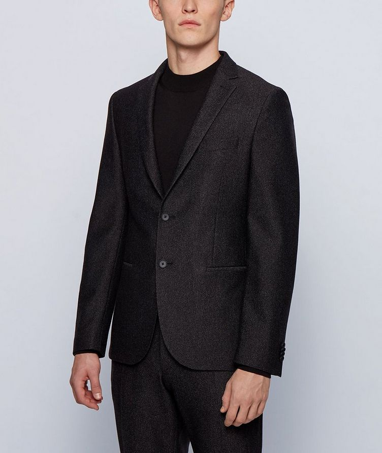 Micro-Patterned Sport Jacket image 1