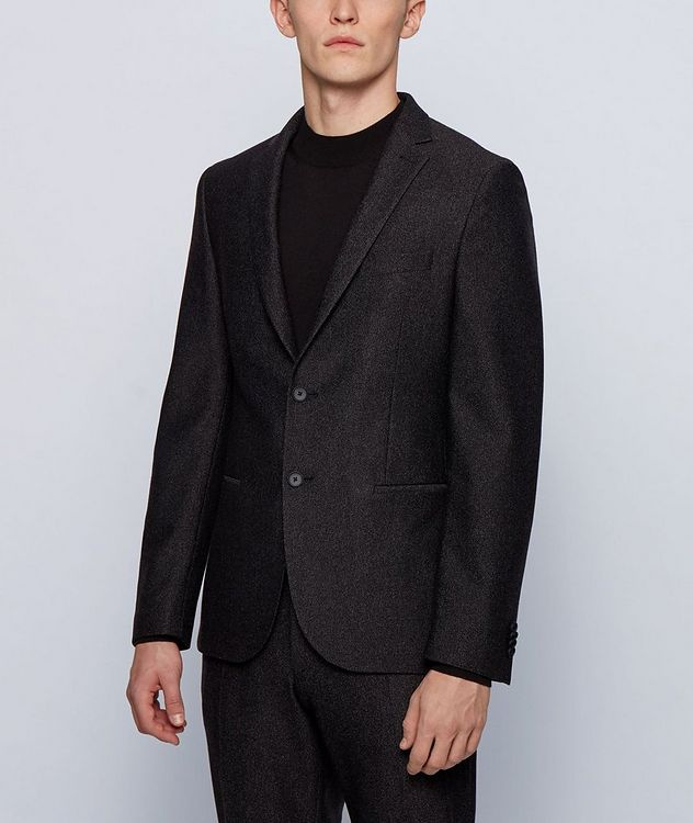 Micro-Patterned Sport Jacket picture 2