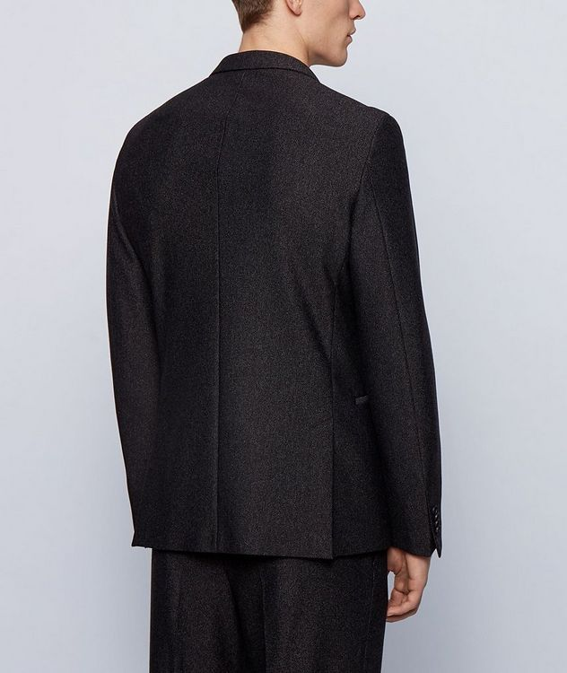 Micro-Patterned Sport Jacket picture 3