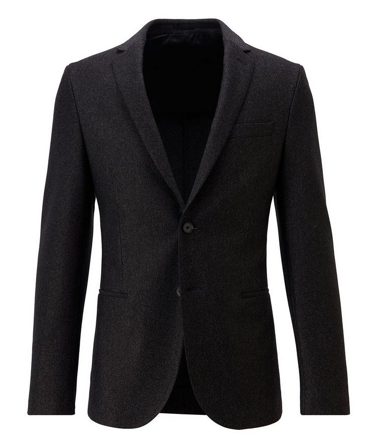 Micro-Patterned Sport Jacket image 0