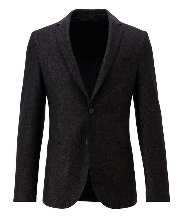 Micro-Patterned Sport Jacket picture 1