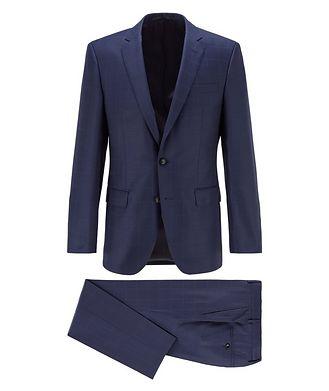 BOSS Huge6/Genius5 Virgin Wool Suit