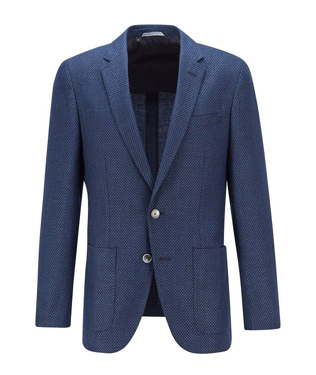 Haylon Wool-Linen Sports Jacket picture 1