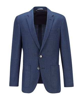 BOSS Haylon Wool-Linen Sports Jacket