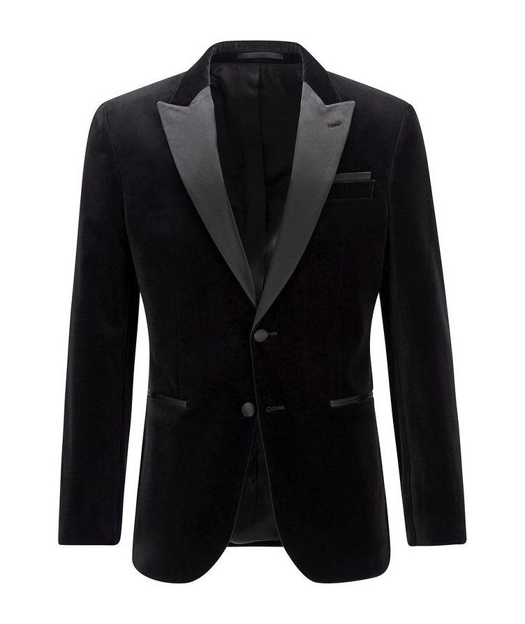 Helward4 Slim-Fit Velvet Tuxedo Jacket image 0