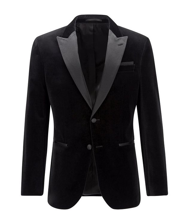 Helward4 Slim-Fit Velvet Tuxedo Jacket picture 1