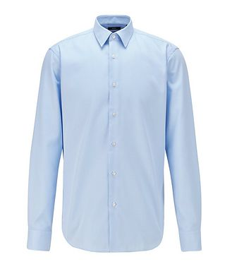 BOSS Contemporary-Fit Easy-Iron Dress Shirt