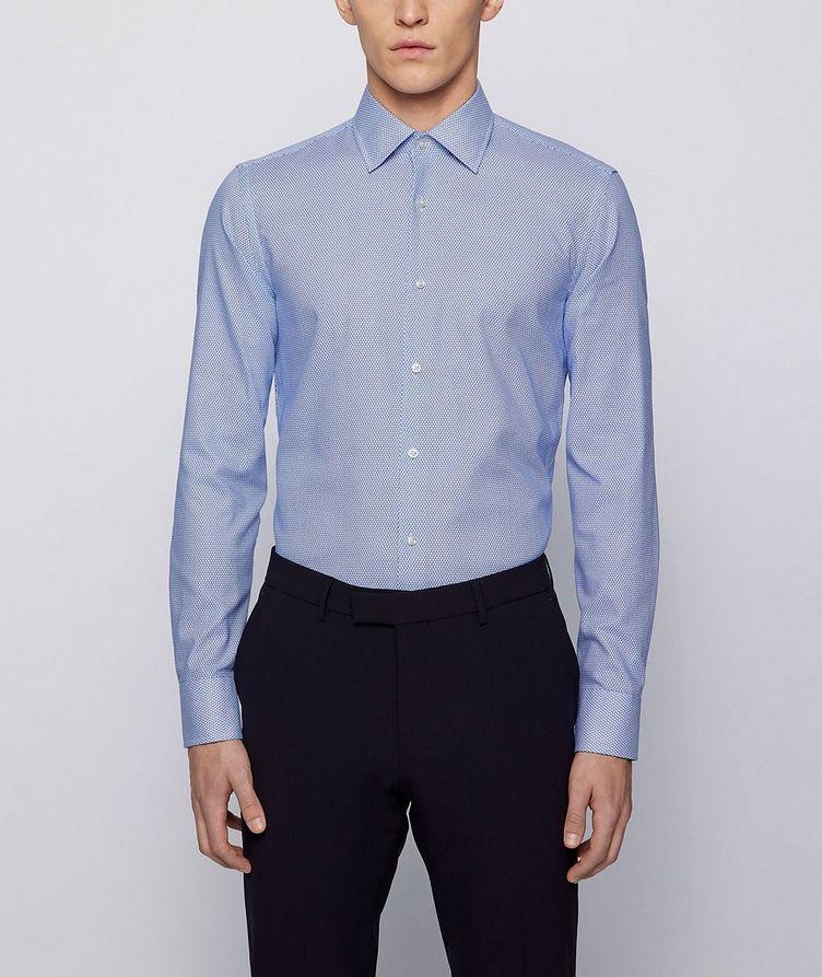 Geometric Print Dress Shirt image 1