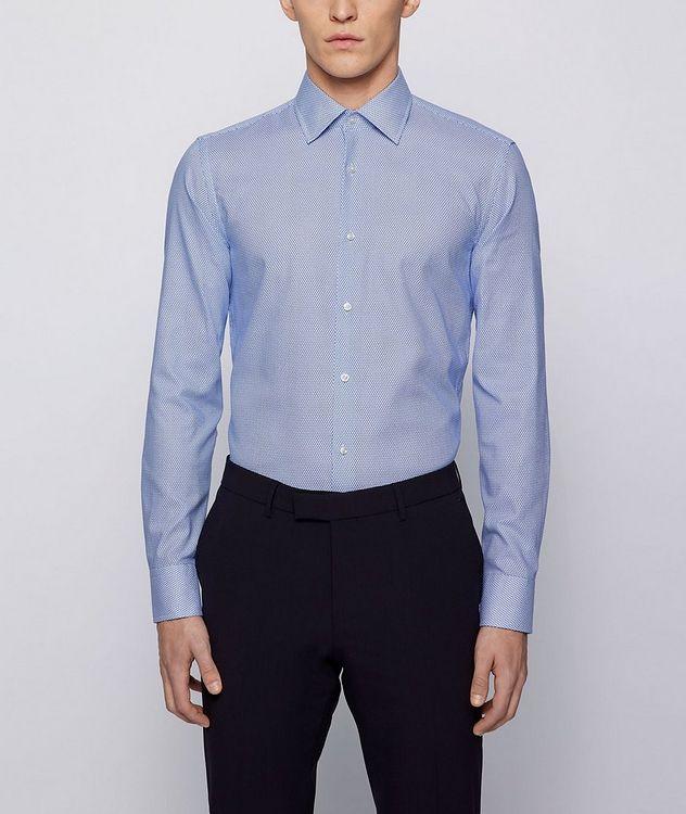 Geometric Print Dress Shirt picture 2