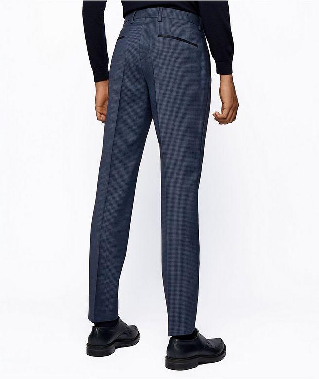 Pantalon habillé en twill extensible de coupe amincie picture 3