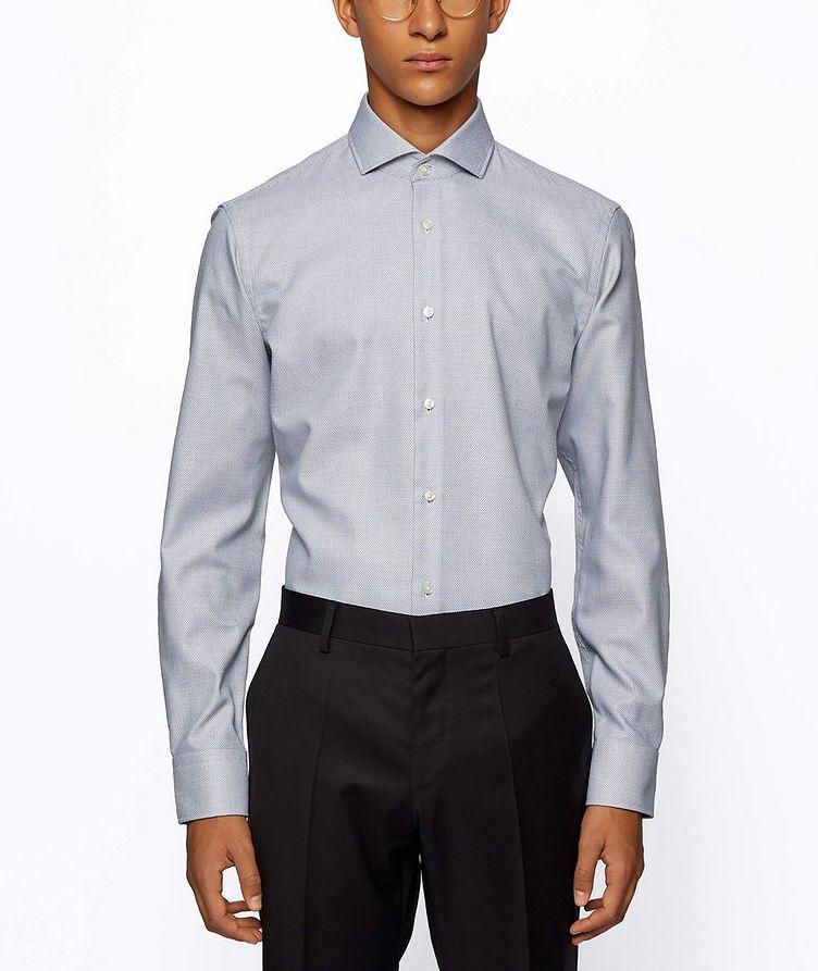Printed Stretch-Blend Dress Shirt image 1