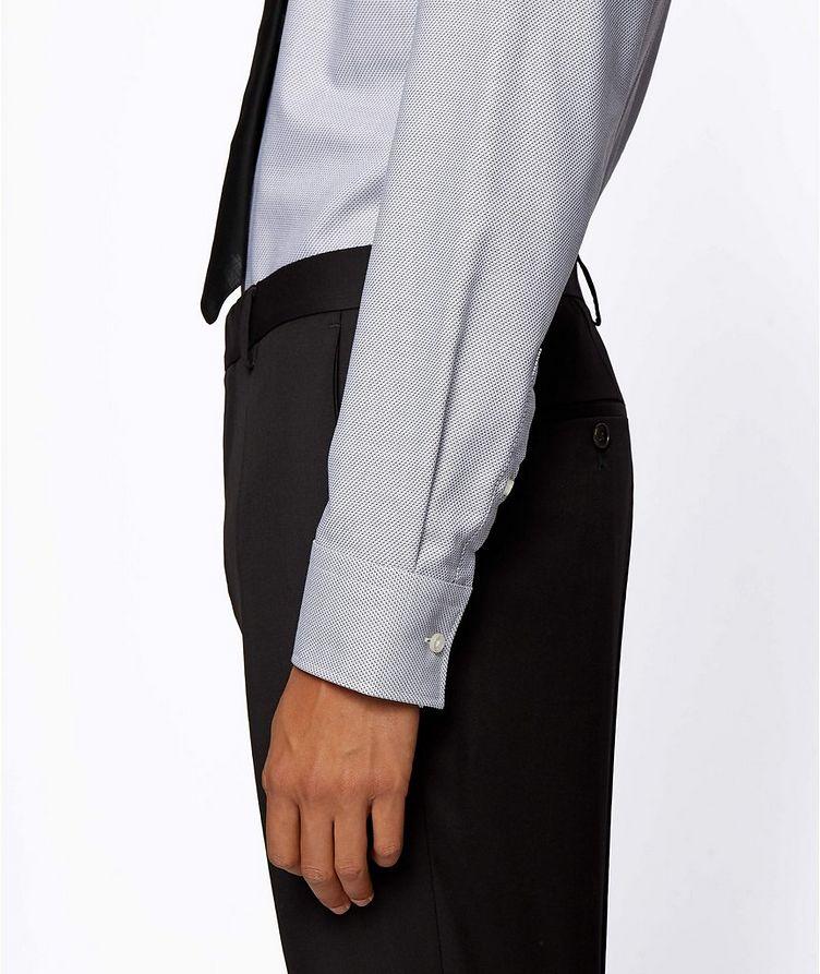 Printed Stretch-Blend Dress Shirt image 4