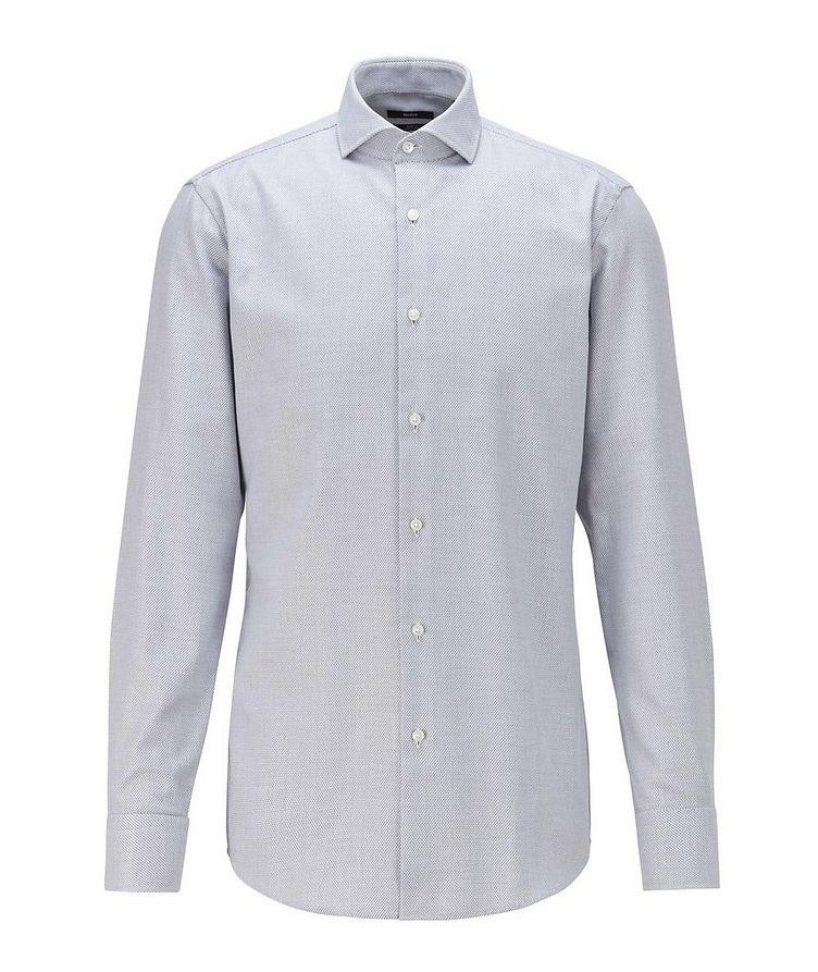Printed Stretch-Blend Dress Shirt image 0