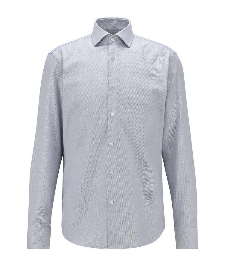 Slim-Fit Two-Tone Dress Shirt image 0