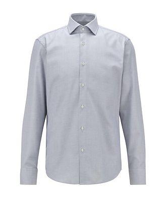 BOSS Slim-Fit Two-Tone Dress Shirt