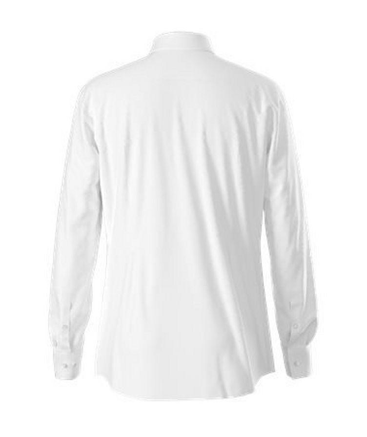 Slim-Fit Cotton Dress Shirt image 1