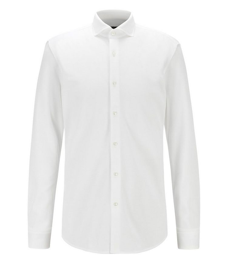 Slim-Fit Cotton Dress Shirt image 0