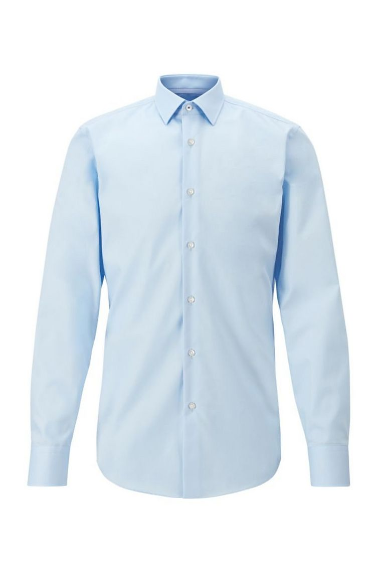 Slim-Fit Easy Iron Dress Shirt  image 0