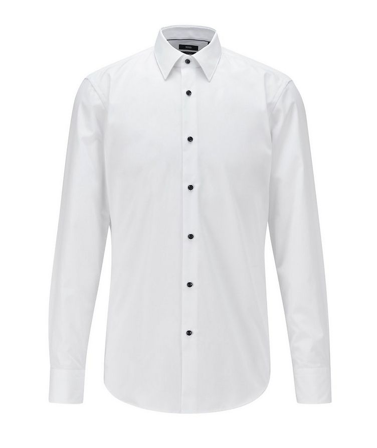 Slim-Fit Easy-Iron Dress Shirt image 0