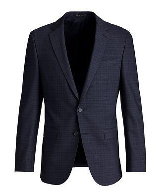 BOSS Novan6/Ben2 Slim-Fit Stretch-Wool Suit