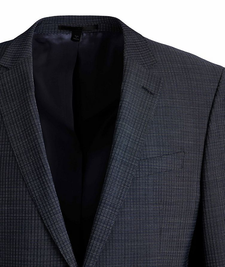 Huge6/Genius5 Slim-Fit Checked Wool Suit image 1