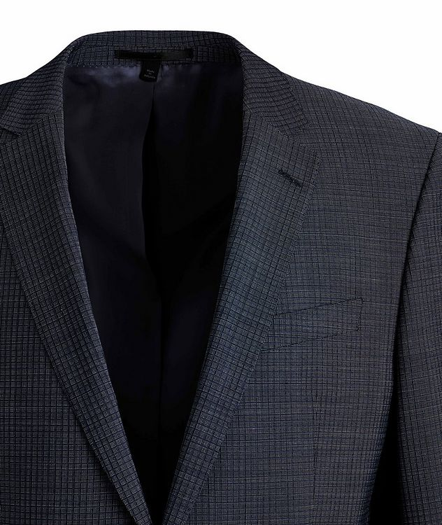 Huge6/Genius5 Slim-Fit Checked Wool Suit picture 2