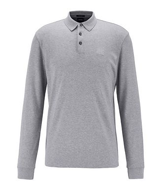 BOSS Long-Sleeve Interlock Polo