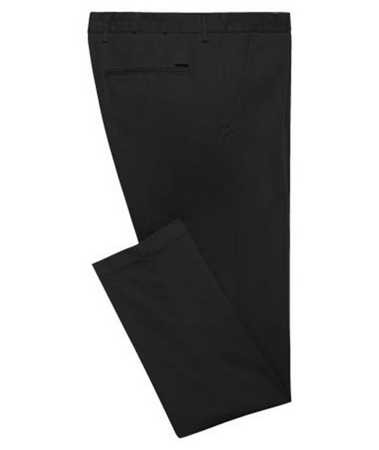 Kaito1 Slim Fit Stretch-Cotton Chinos image 0