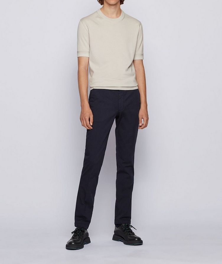 Kaito1 Slim Fit Stretch-Cotton Chinos image 3