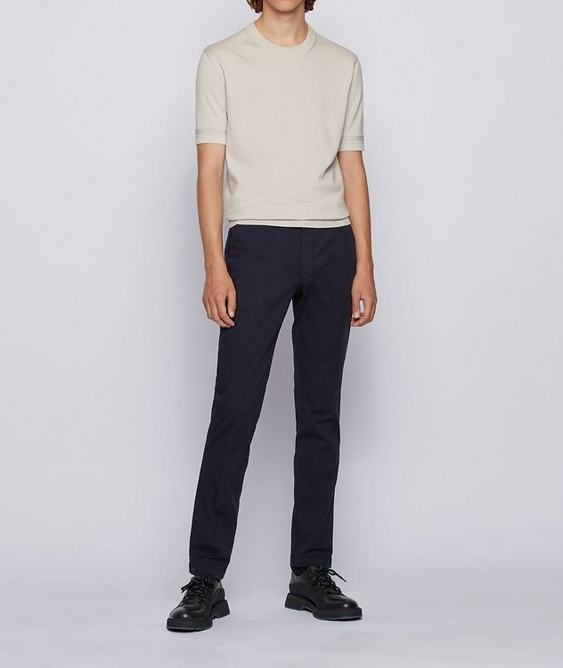 Kaito1 Slim Fit Stretch-Cotton Chinos picture 4