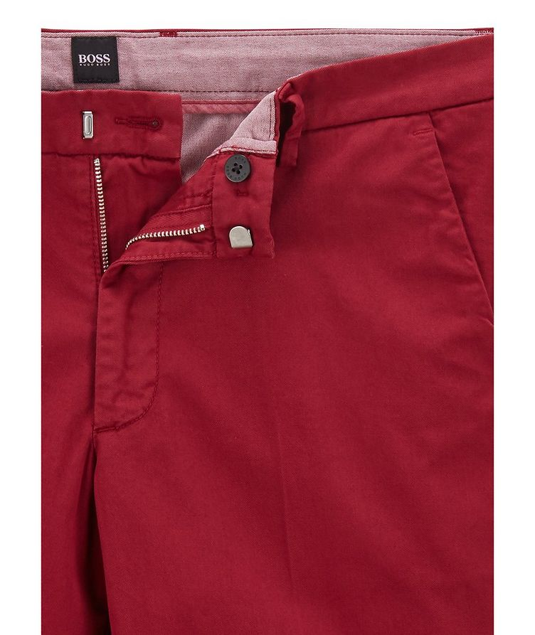 Kaito1 Slim Fit Stretch-Cotton Chinos image 1