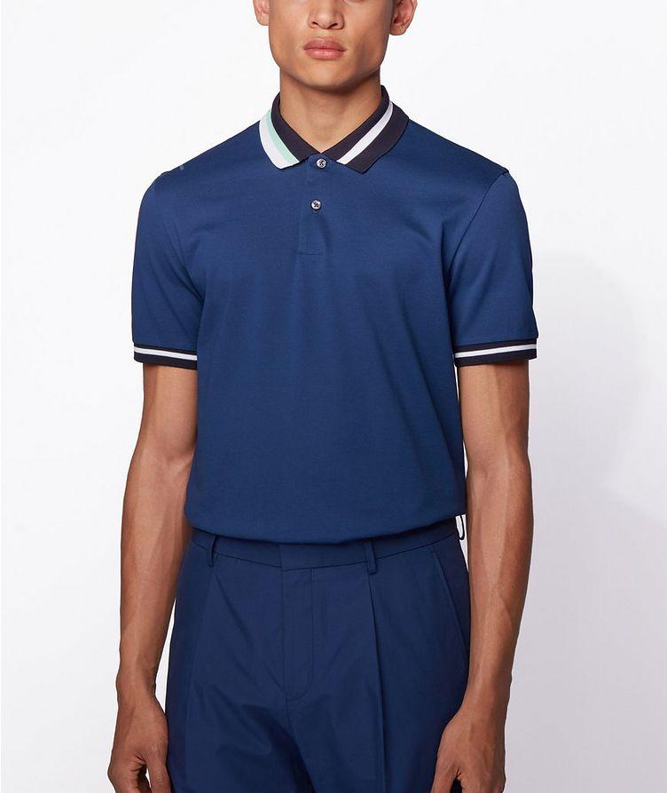 Asymmetric Cotton Polo image 1