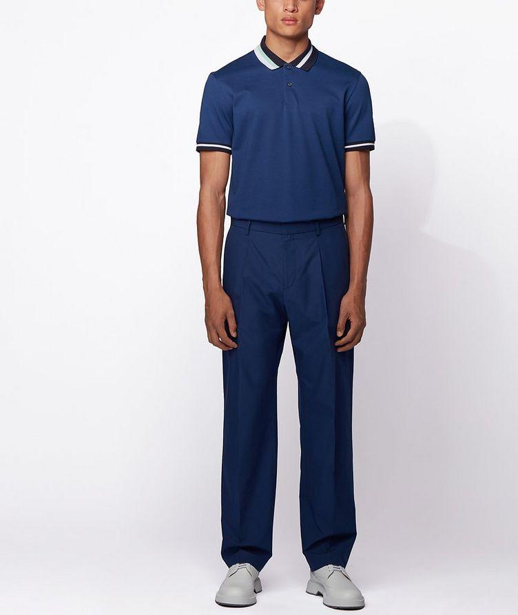 Asymmetric Cotton Polo image 4