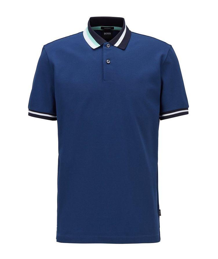 Asymmetric Cotton Polo image 0