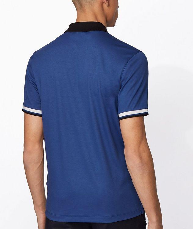 Slim-Fit Block-Striped Polo picture 3