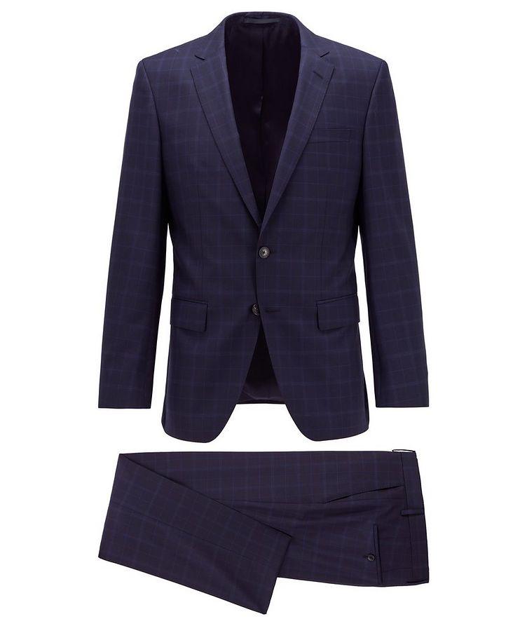 Huge6/Genius5 Slim-Fit Checked Suit image 0