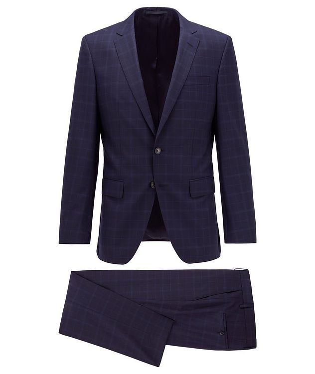 Huge6/Genius5 Slim-Fit Checked Suit picture 1